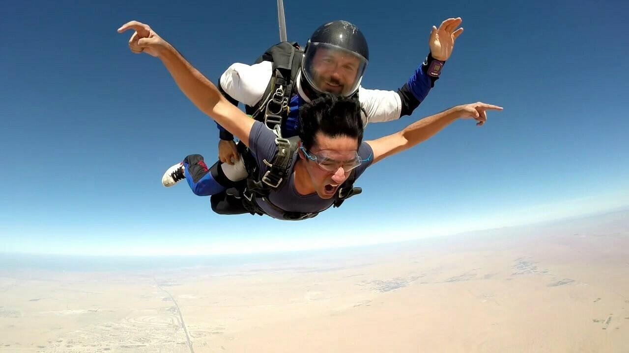 SKY DIVING, DESERT DUBAI 1699 AED