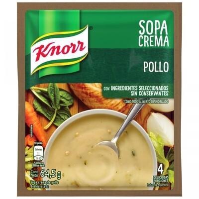 KNORR SOPA CREMA SOBRE POLLO  x64.5 G