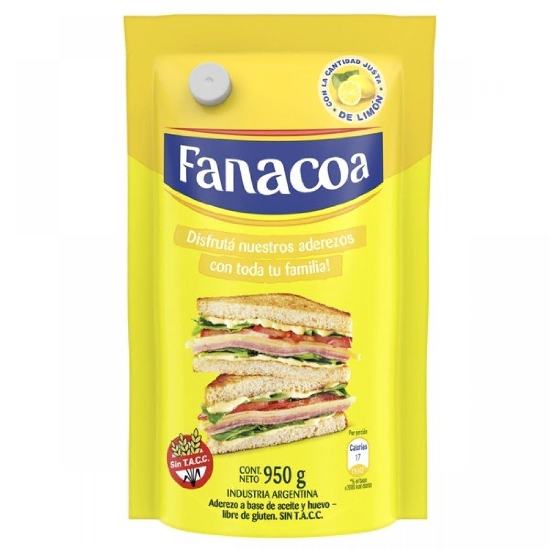 FANACOA MAYONESA  D/P x950 G