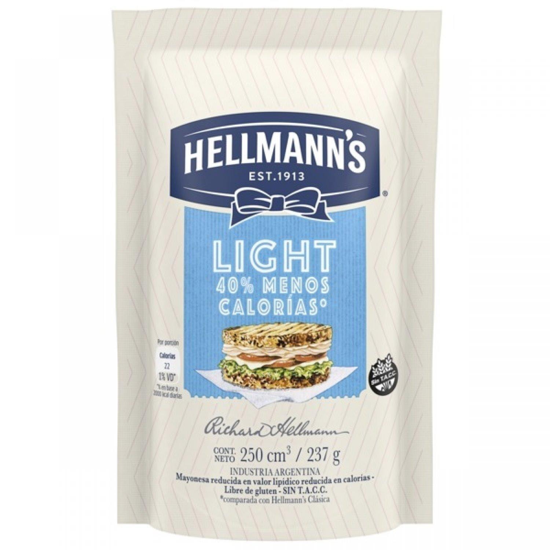 HELLMANNS MAYONESA LIGHT  D/P x237 G