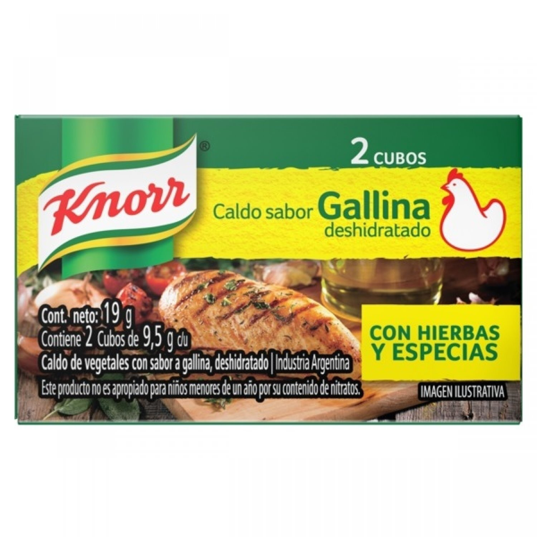 KNORR CALDO CUBO GALLINA DPL x24X2