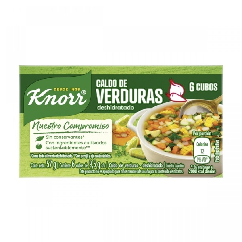 KNORR CALDO CUBO VERDURA x10X6