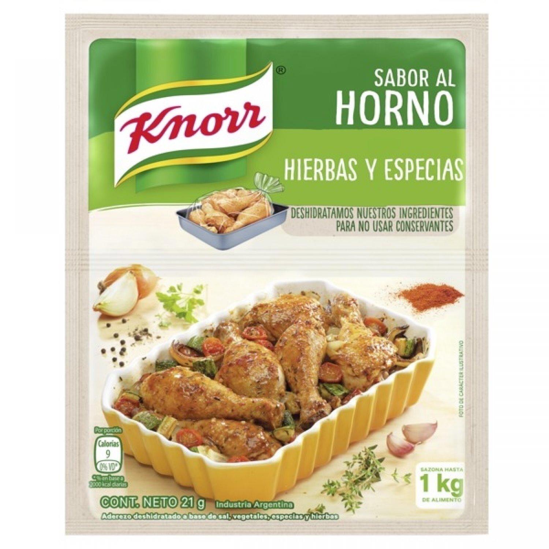 KNORR COND/SOBRE AL HORNO H Y ESP x21 G