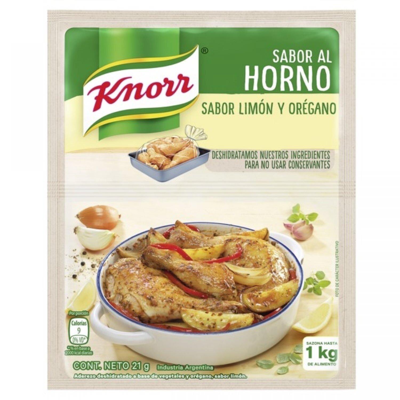 KNORR COND/SOBRE AL HORNO LIMON/OREG x21 G