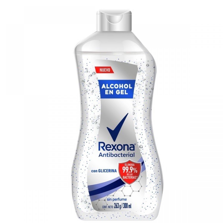 REXONA ANTIB ALCOHOL GEL S/PERF  x 300ML