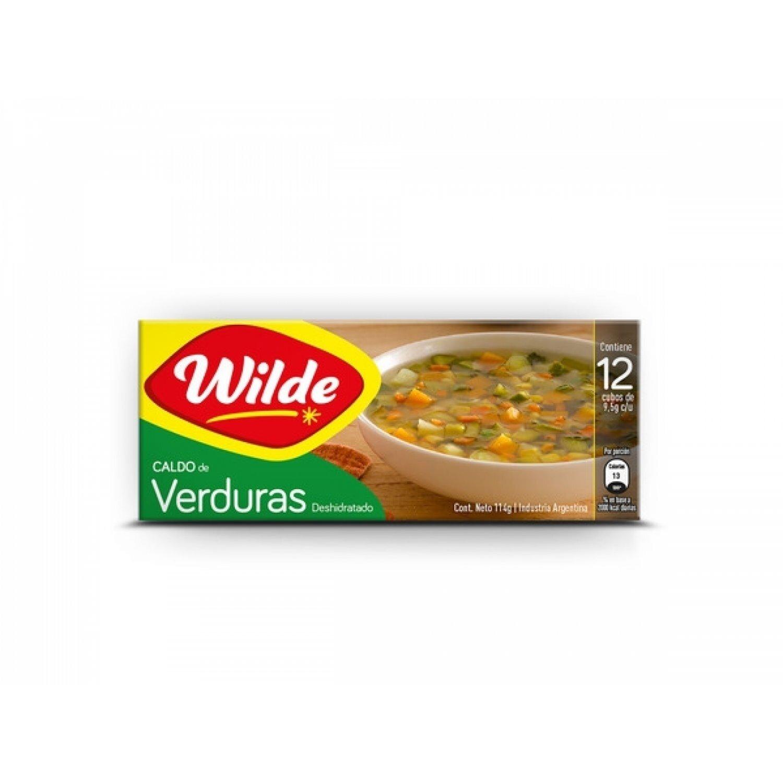 WILDE CALDO CUBO VERDURA EST x12