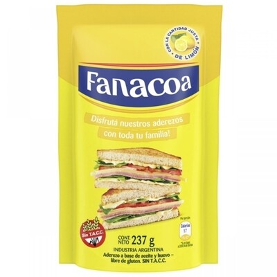 FANACOA MAYONESA  D/P x237 G