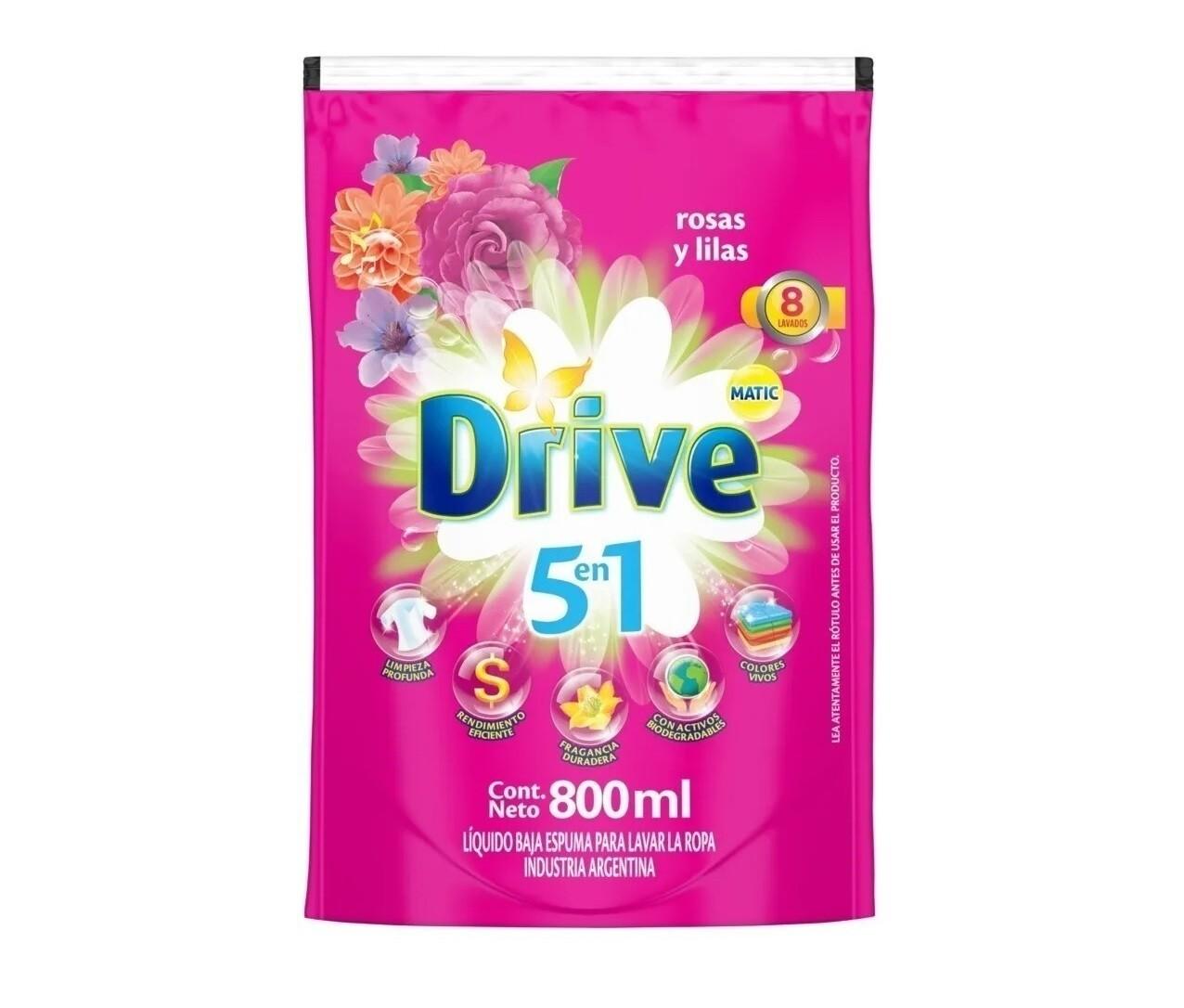 DRIVE MATIC DT LIQ RS Y LILAS DP x 800ML