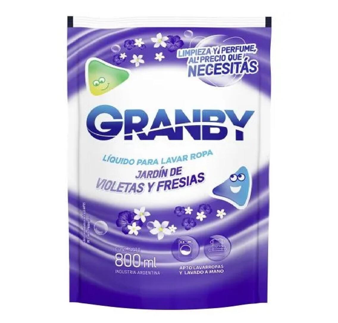 GRANBY LIQ LV ROPA J VIO Y FR DP x 800ML