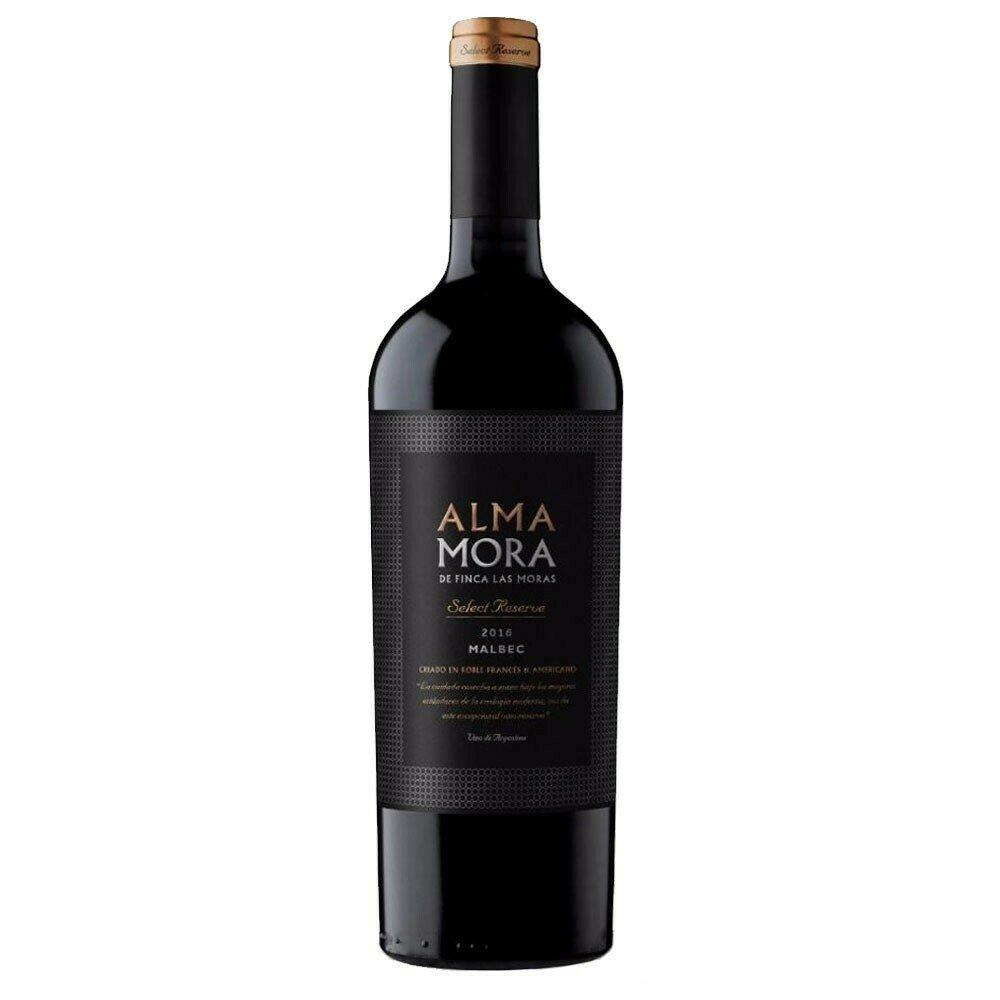 ALMA MORA RESERVA MALBEC x750cc