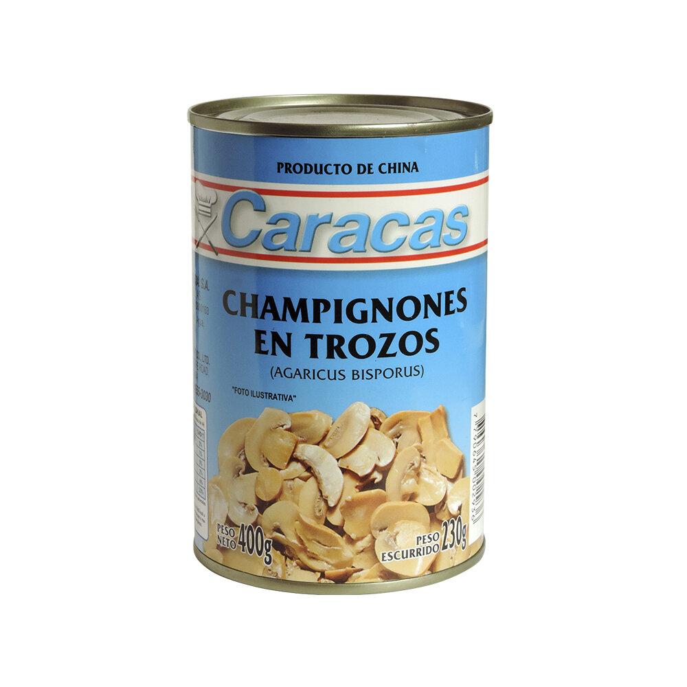 CHAMPIGNONES TROZOS CARACAS x400grs