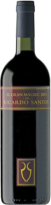 EL GRAN MALBEC RICARDO SANTOS  x750cc