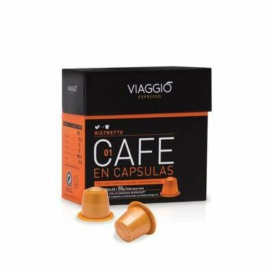 VIAGGIO CAPSULA CAFE RISTRETTO 10x54gr