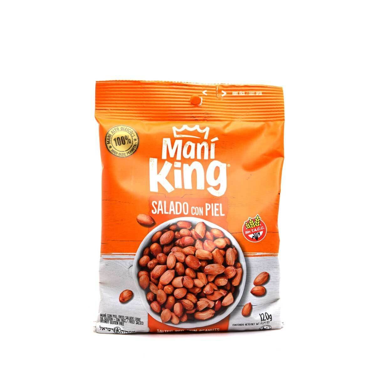 MANI KING FRITO C/PIEL x120grs