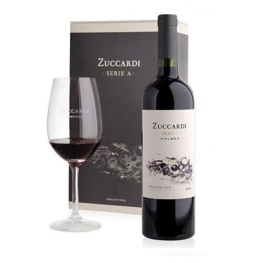 E. ZUCCARDI SERIE A MALBEC + COPA 1x750cc