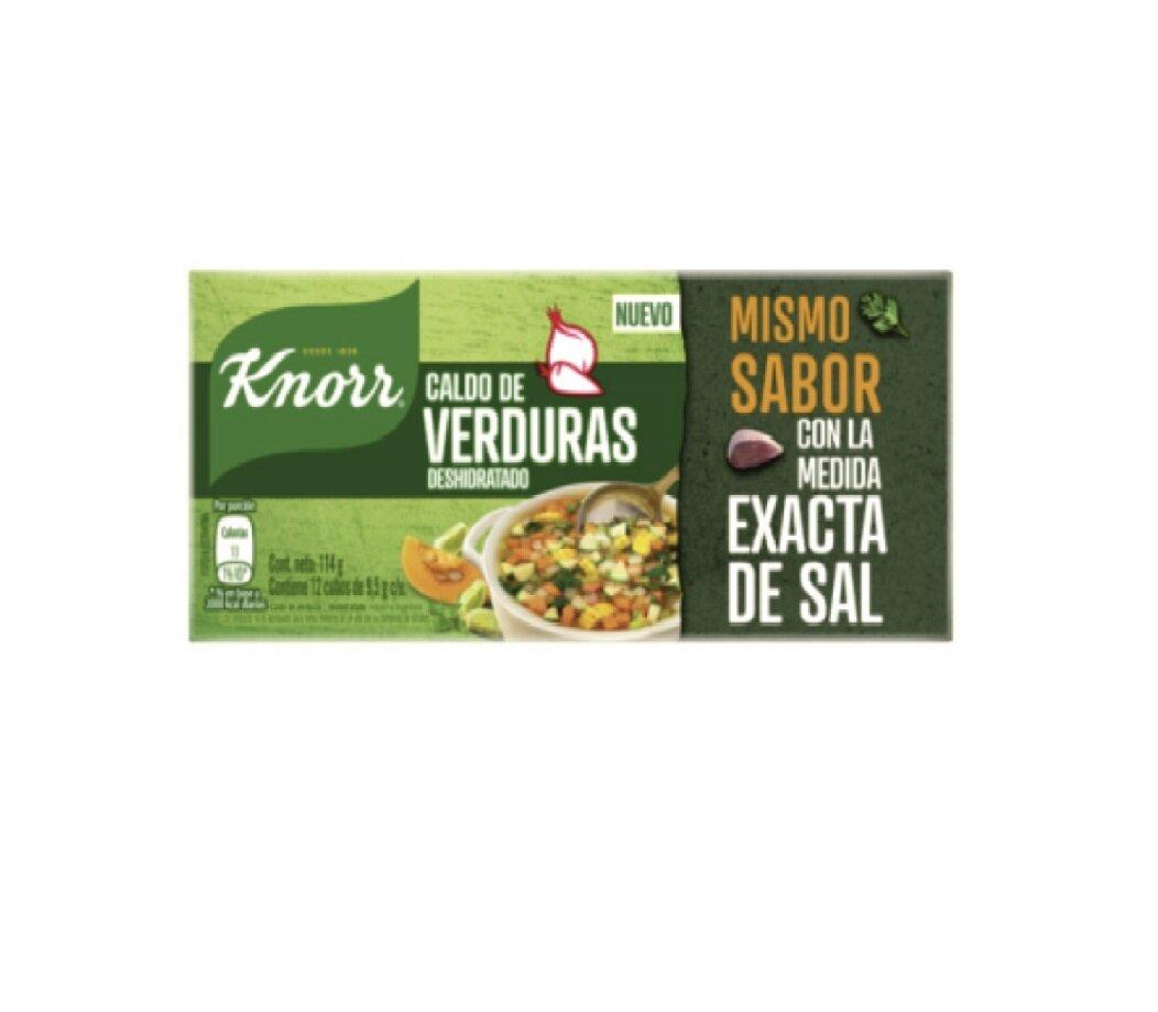 KNORR CALDO CUBO VERDURA 1x12