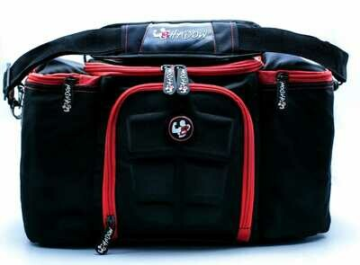 Shadow Gym Bag/ Black and Red