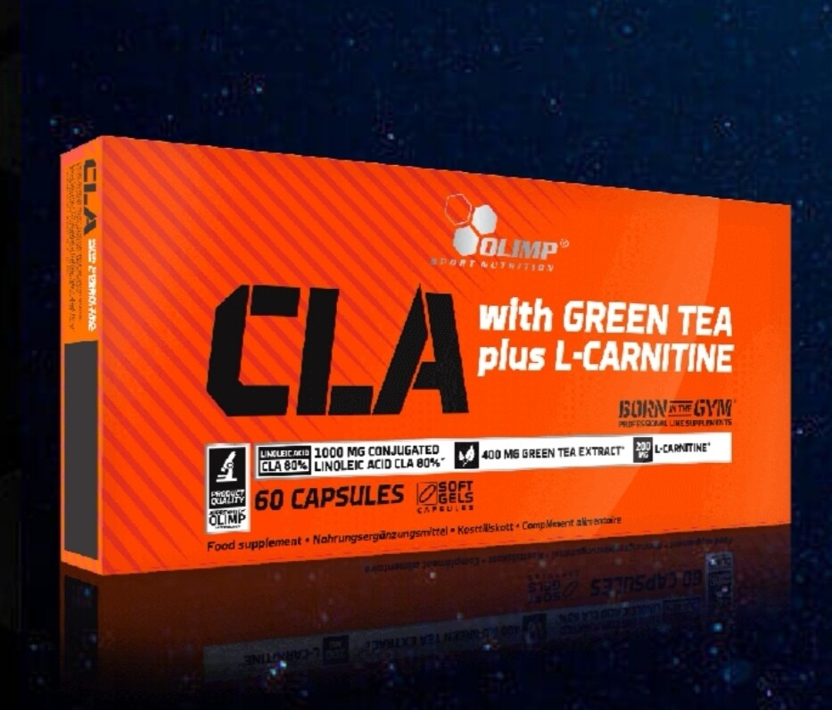 OLIMP CLA with Green Tea extract + L-carnitine