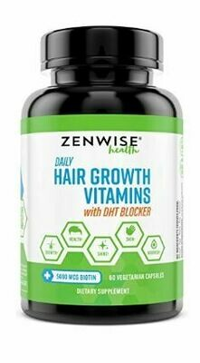 ZENWISE Hair Growth Vitamins with DHT BLOCKER