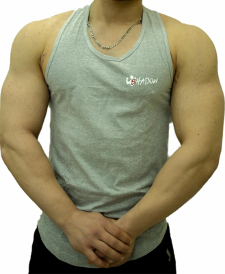 Shadow Sando Shirt Grey