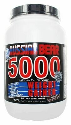 Vitol - Russian Bear 5000 Weight Gainer Chocolate 4 Lbs.
