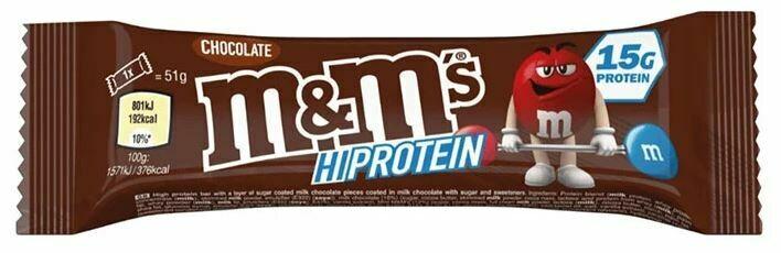 M&M's Hi-Protein Bar - Chocolate
