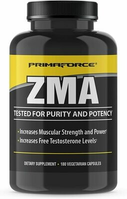 Primaforce ZMA Dietary Supplement, 180 Count