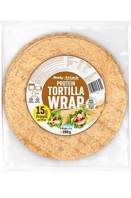 PROTEIN TORTILLA WRAPS 280G 4 wraps - each 70g Rich in fibre Very versatile