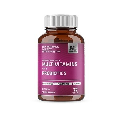 HC Nutrition Womens Multivitamins with Probiotics