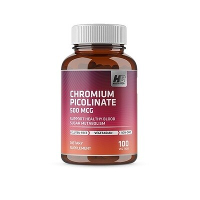 HC Nutrition Chromium Picolinate 50 MCG