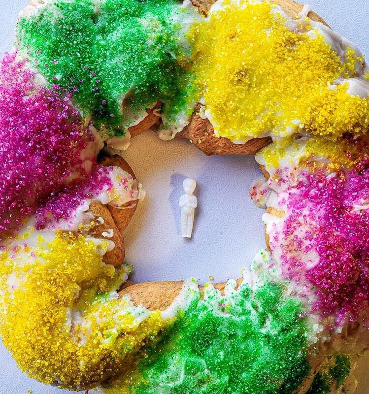 Vegan King Cake (12