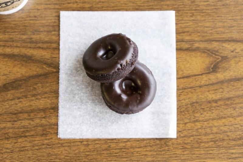 Gluten Free Chocolate Donuts