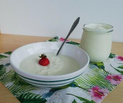 Mildes Natur-Joghurt
