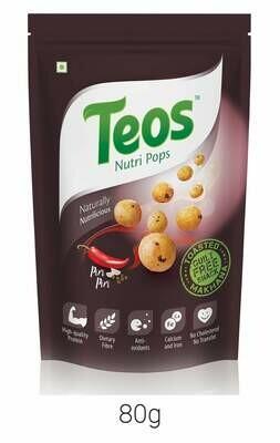 TEOS NutriPops Piri Piri - Makhana (Foxnuts)