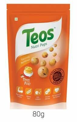 TEOS NutriPops Tangy Pickle - Makhana (Foxnuts)
