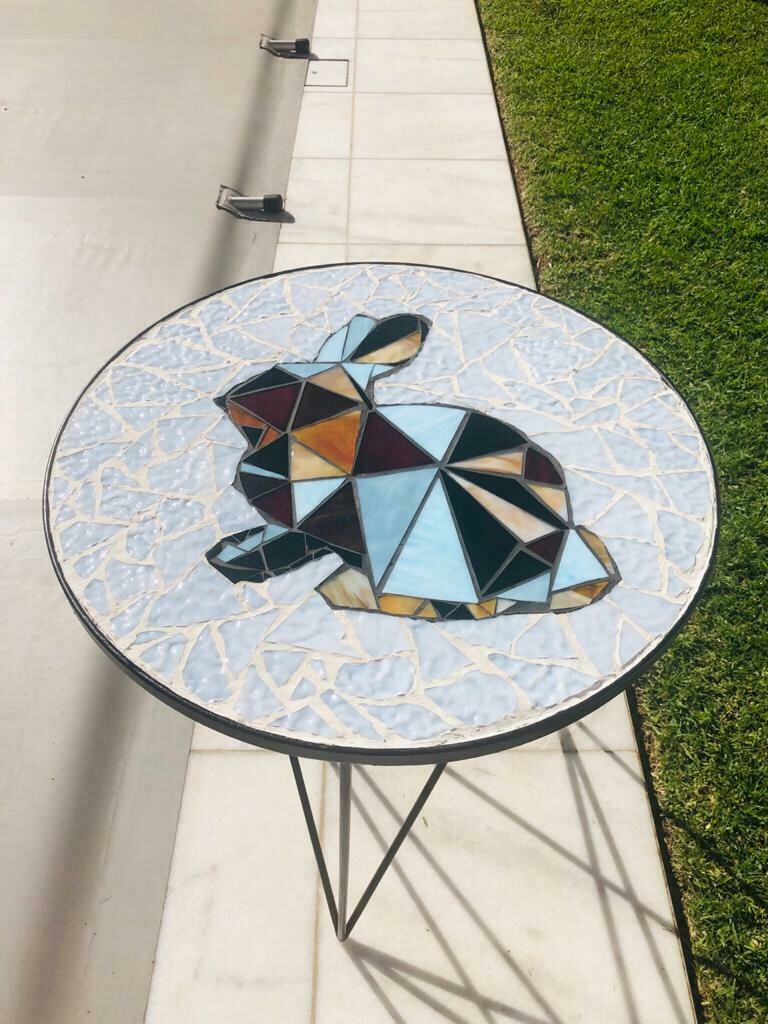 Rabbit side table