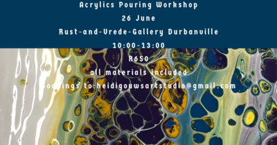 Acrylics Pouring Workshop