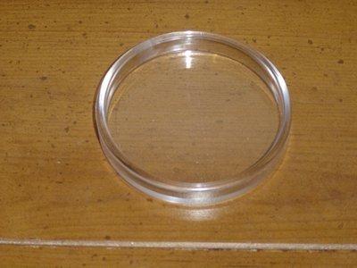 Clear Tough Plastic Castor Cups