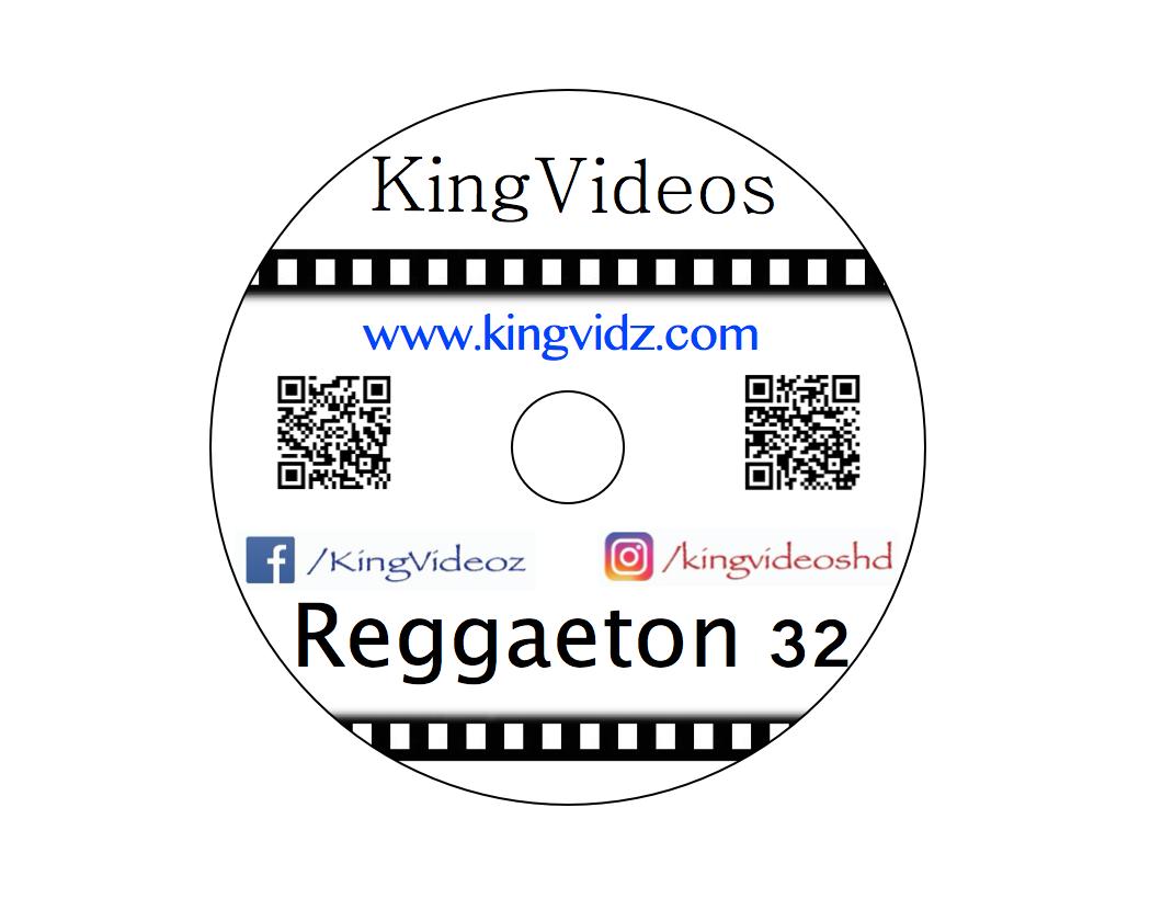 2019 - REGGAETON VOL 32 DVD