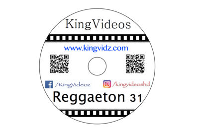 2019 - REGGAETON VOL 31 DVD