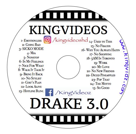 Drake 3.0 DVD