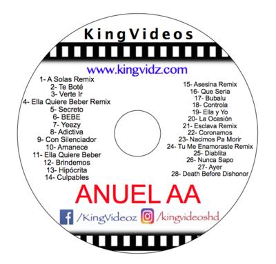 ANUEL AA DVD