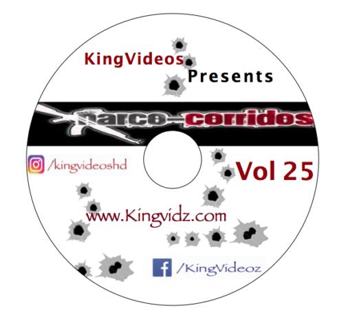 2020 - CORRIDOS VOL 25 DVD