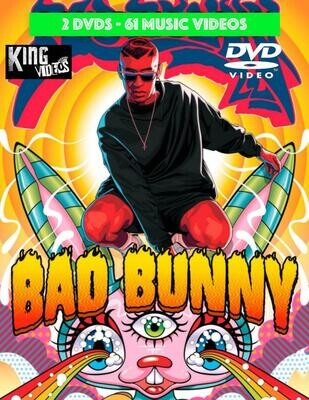 Bad Bunny 61 Music Videos [2 DVD Package]
