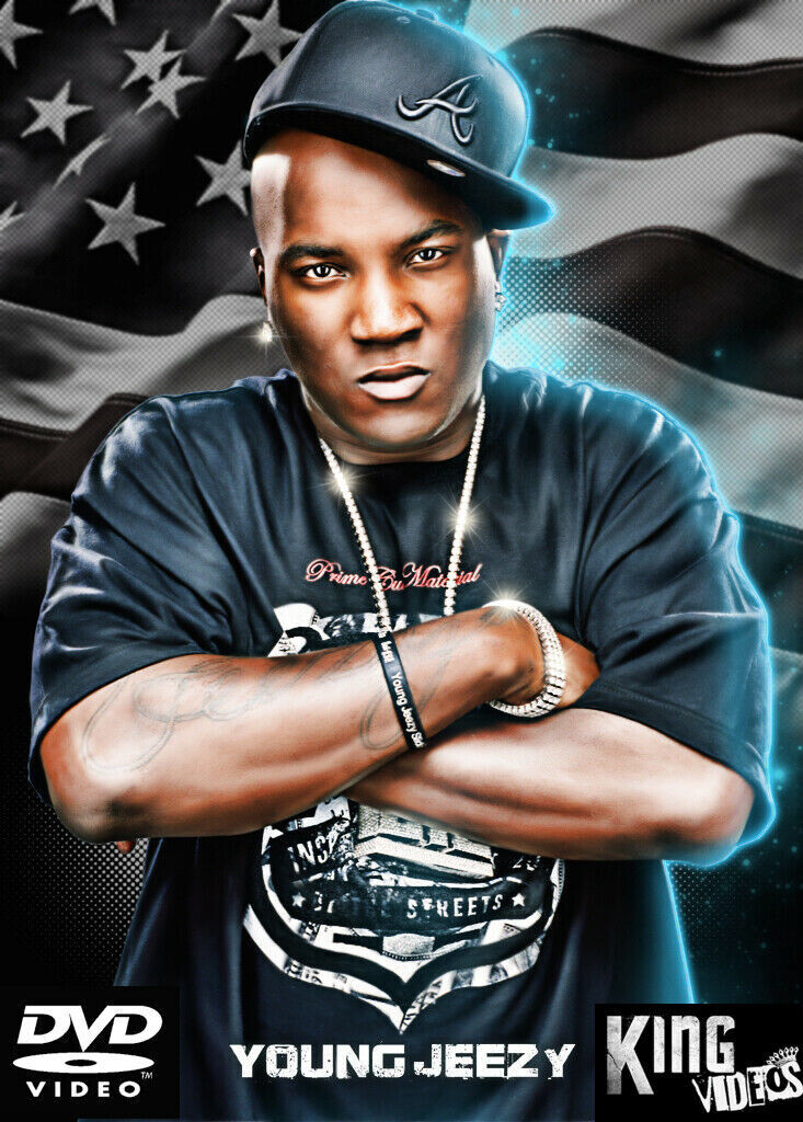 YOUNG JEEZY DVD - 30 Music Videos