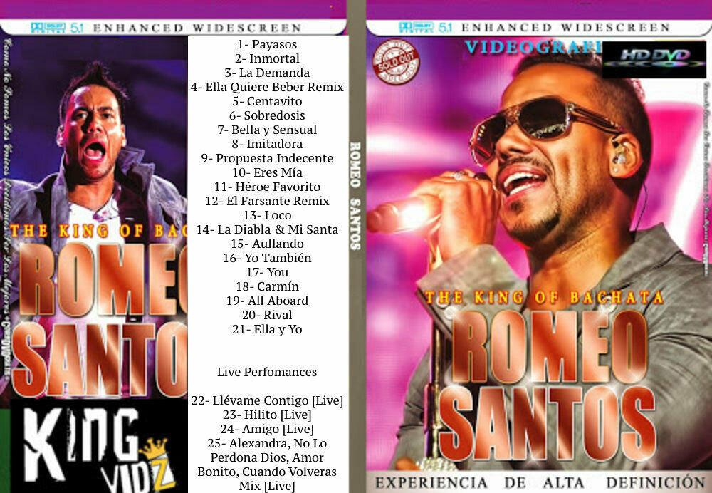 ROMEO SANTOS DVD