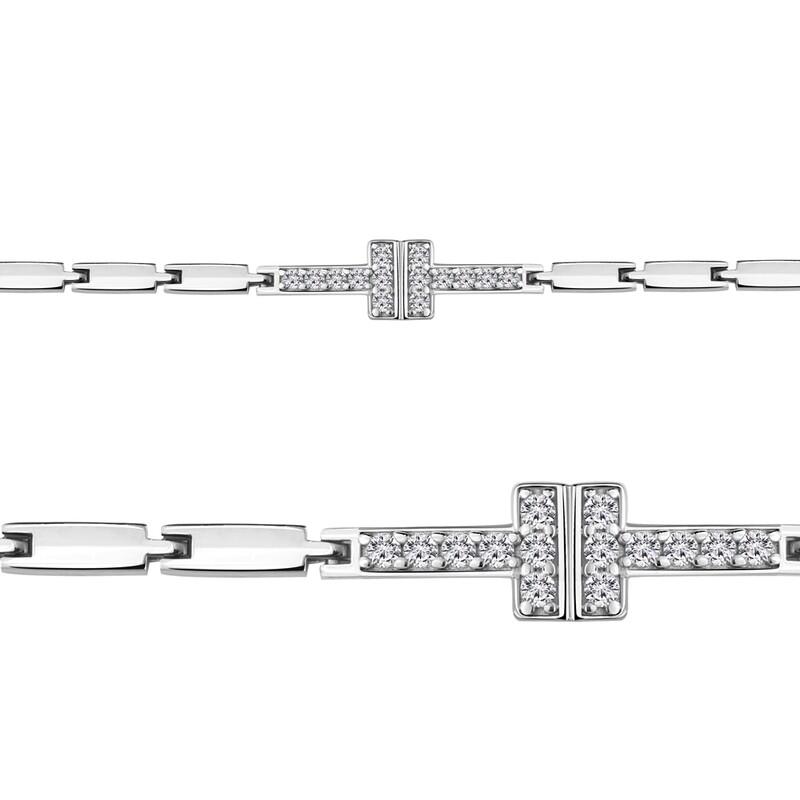 Браслет 74414А  серебро 925