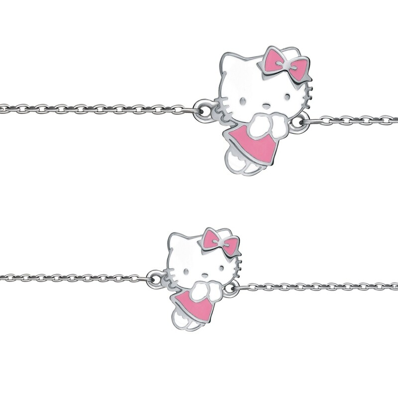 Браслет 74421 серебро 925 Hello Kitty