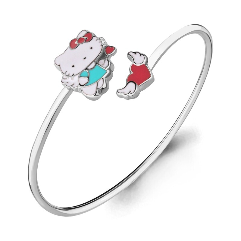 Браслет  74420   серебро 925  Hello Kitty