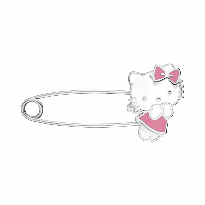 Булавка  74428 серебро 925 Hello Kitty